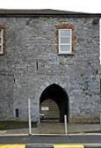 Gate of St. John's Limerick Ireland